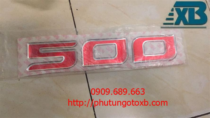 Logo chữ 500 (Hino 500 )
