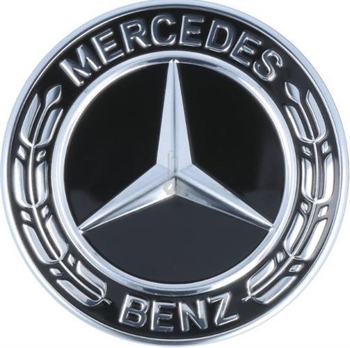 Logo Mercedes E300 cốp