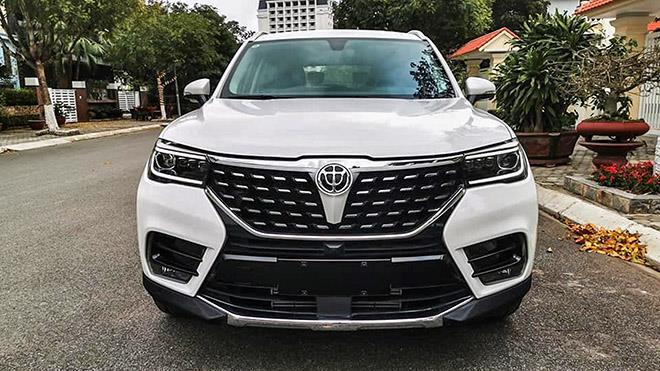 Chi tiết mẫu xe 7 chỗ Brilliance V7 tại Việt Nam, có giá bán 738 triệu đồng